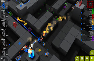 Screenshots of the Cubemen 2 game for iPhone, iPad or iPod.