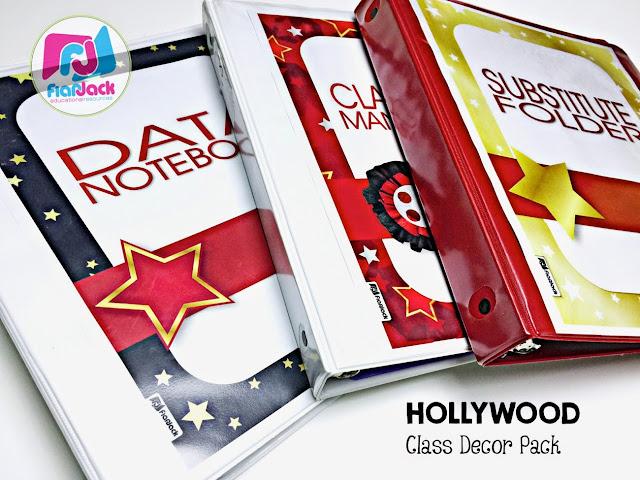 Hollywood Classroom Theme Decor Pack