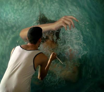 Mujeres Bajo el Agua Hiperrealismo Femenino