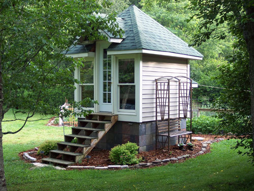 HGTV Big Tiny House Living On Tiny Romantic Cottage House Plan Stone