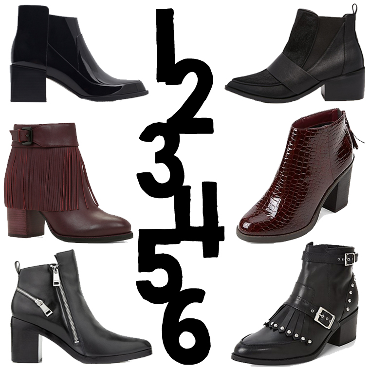 THE AW15 BOOT EDIT, SHOP THE CURRENT ON TREND STYLES FOR THE SEASON
