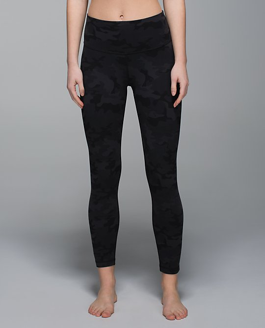 lululemon black camo high times