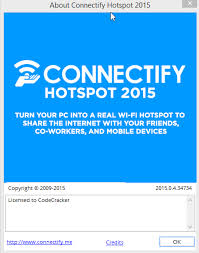 Connectify Hotspot 2015 Crack With Serial Key Full Version Free Download