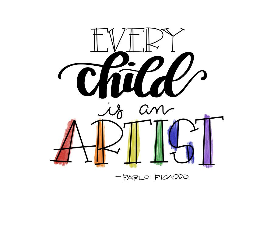 WE LOVE ARTS! Every child is an artist