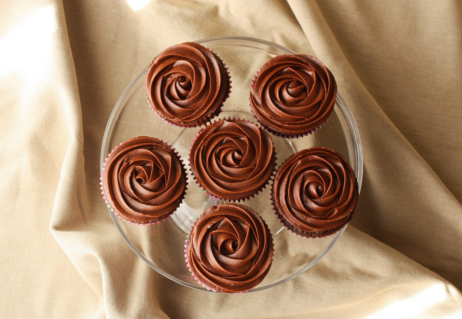 Truffle Filled Chocolate Cupcakes