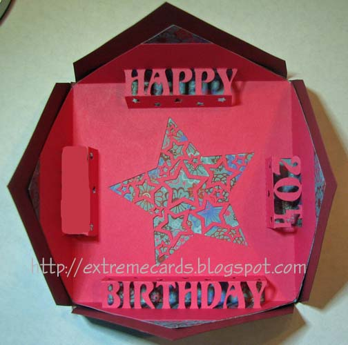 extreme cards and papercrafting blintz fold happy birthday pop up, Birthday card