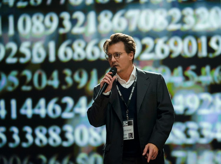 Transcendence Featurette with Johnny Depp