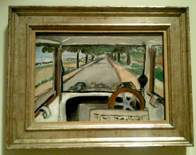 The Windshield, On the Road to Villacoublay, Matisse, Cleveland Museum of Art