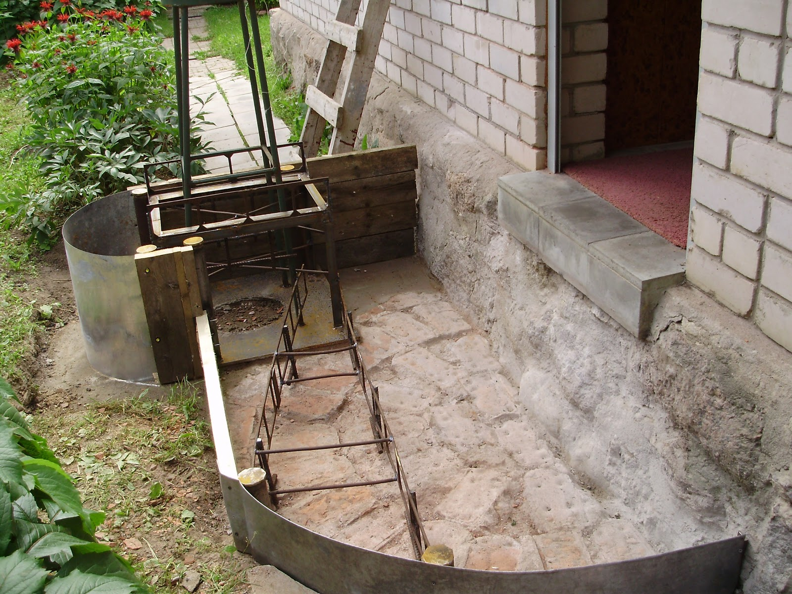 Как сделать ступени для крыльца из бетона