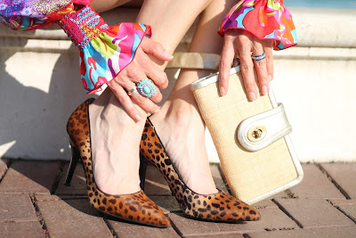 Nine West Pumps, Coach Cloach, Vintage Rings