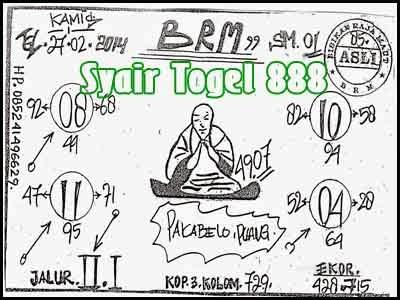 Syair SGP Togel Info Singapore, Kamis 27 Februari 2014