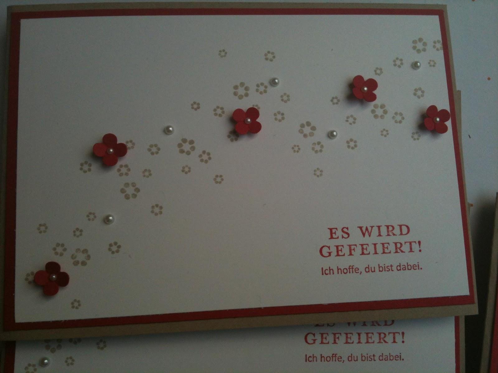 Einladungskarten Selbst Gestalten So Einfach Geht S: Corinne's Bastelblog: Einladungskarten Zum 60. Geburtstag