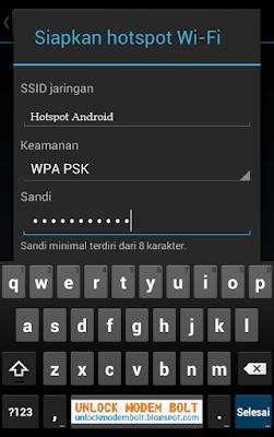 password wifi anda untuk sistem keamanan