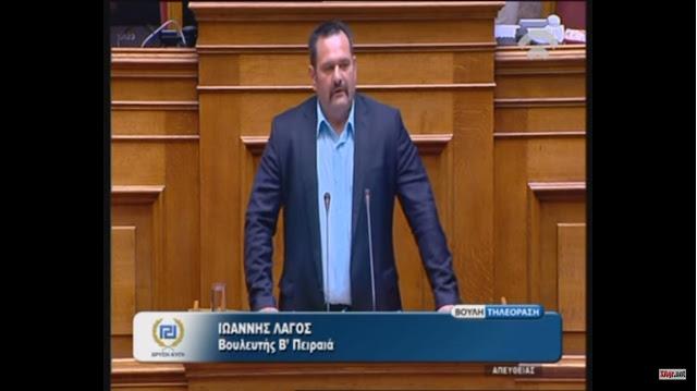 Γιάννης Λαγός: Με τη δύναμη του Ελληνικού Λαού, η Χρυσή Αυγή θα καταργήσει το λαθρονομοσχέδιο-έκτρωμα!