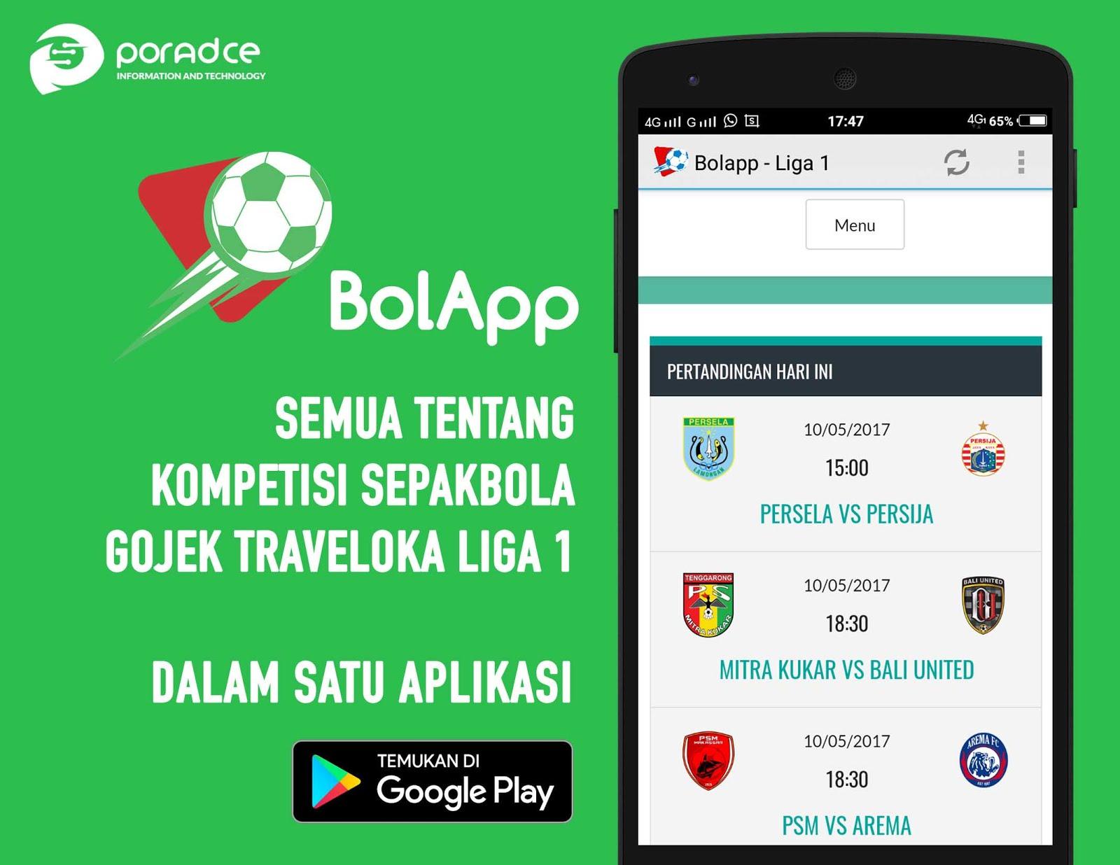 BolApp - Liga 1 Indonesia