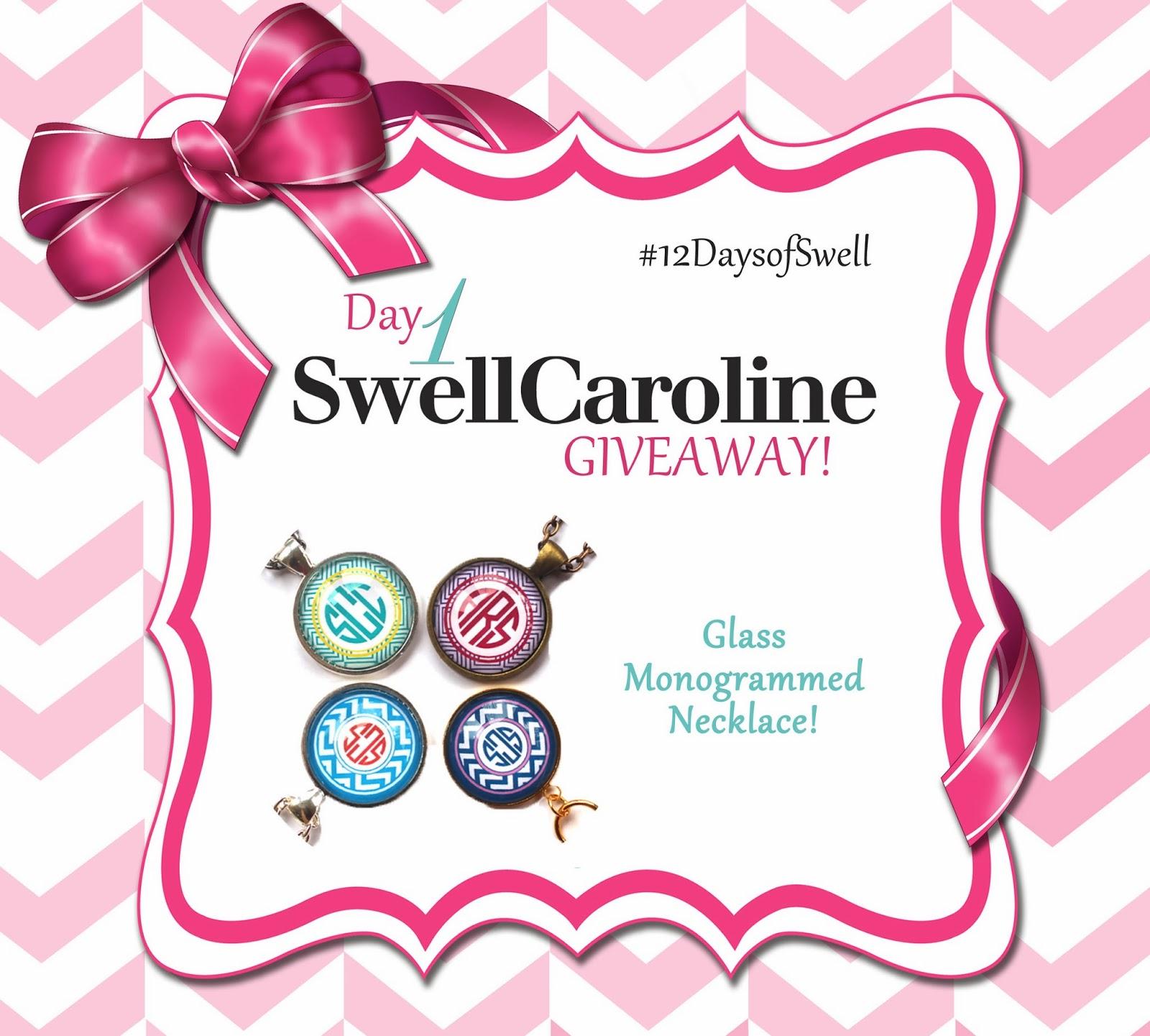 http://www.swellcaroline.com/behind-the-glass-monogram-pendant-necklace.html