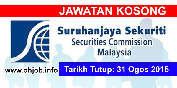 Jawatan Kerja Kosong Securities Commission Malaysia (SC) logo www.ohjob.info ogos 2015