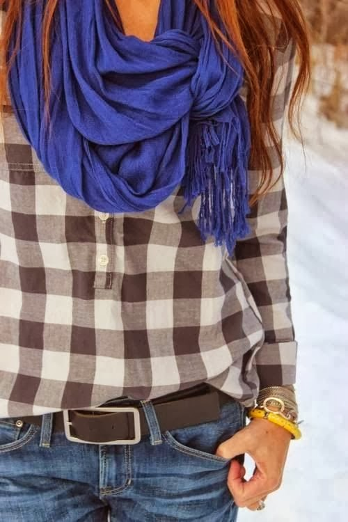 Gorgeous and Interesting Way To Tie A Scarf