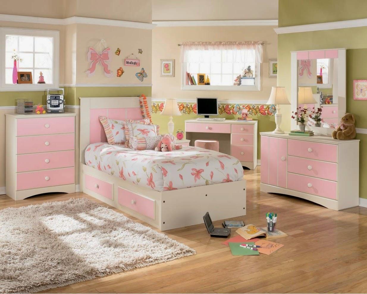 desain kamar anak perempuan minimalis