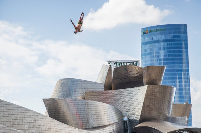 Planeta Bilbao, Red Bull Cliff Diving Bilbao 2015, clavadistas,