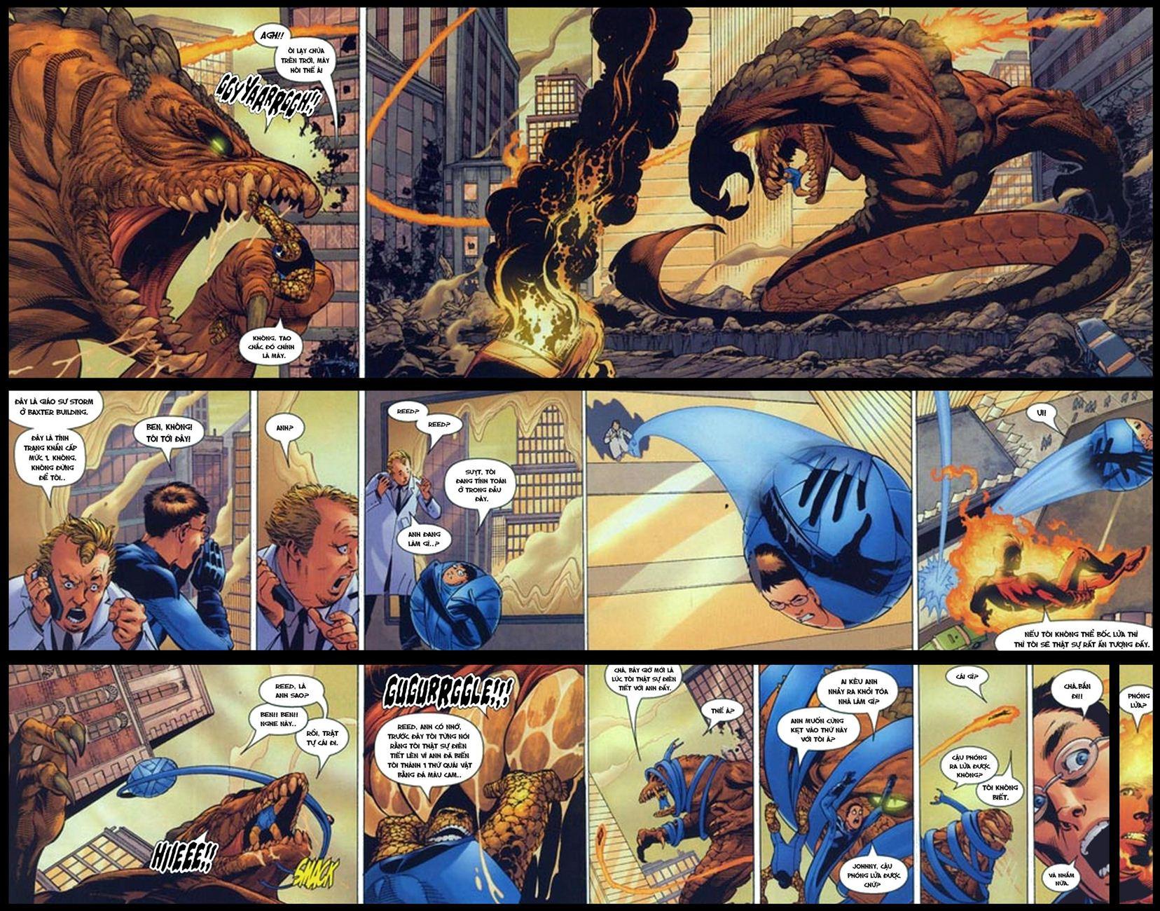 Ultimate Fantastic Four chap 5 - Trang 8