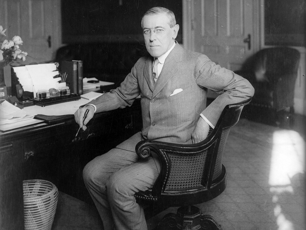Woodrow Wilson (D)