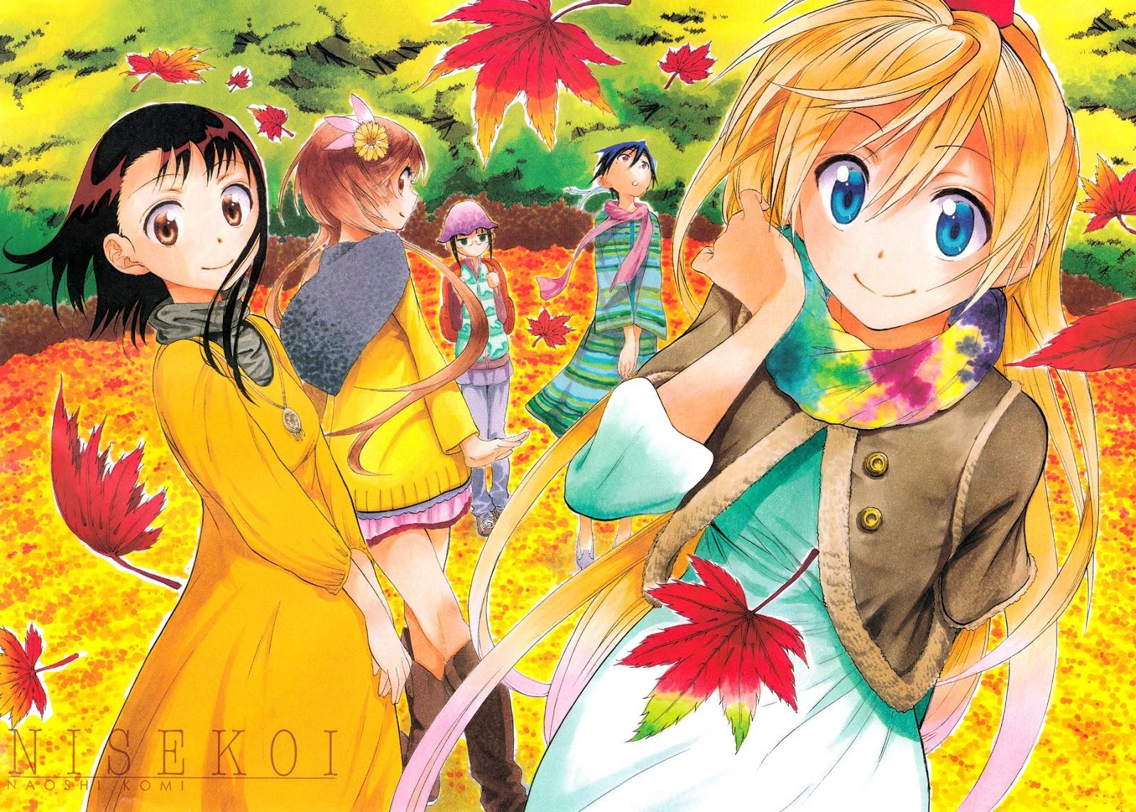 Nisekoi, Actu Manga, Manga, Naoshi Komi, Weekly Shonen Jump,