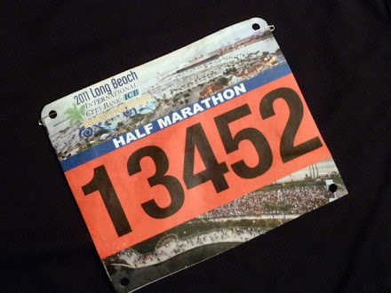 Bib No. 1345... hey, how many people are running in this thing?!