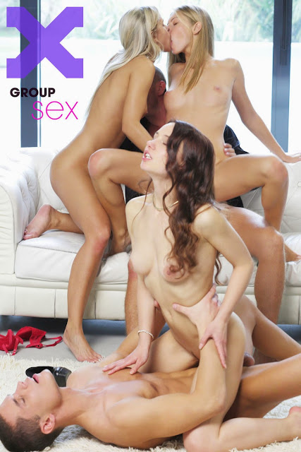 X-Art.com Susie, Angelica & Heidi in Group Sex