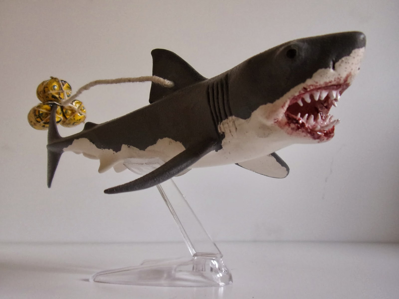 Great White Shark Jaws Toys : Ruste dowg productions jaws