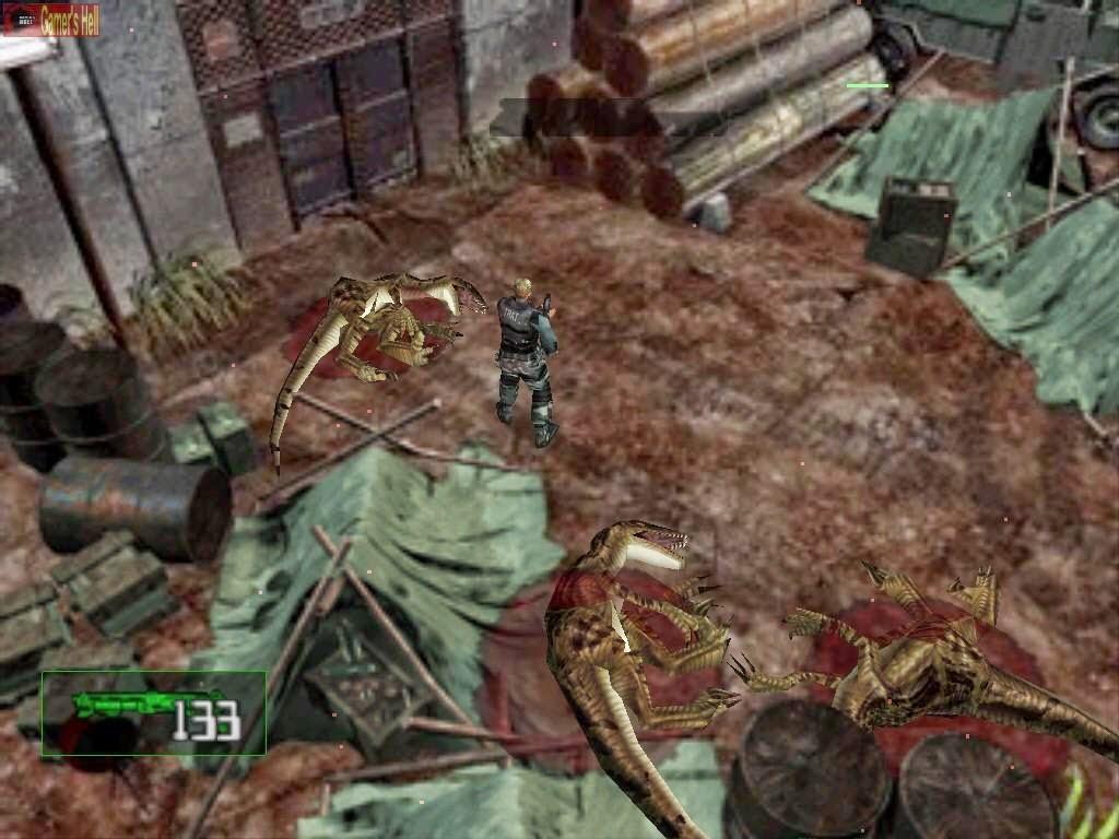 Game Dino Crisis 2 PS1