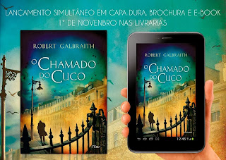 Livro O Chamado do Cuco Editora Rocco