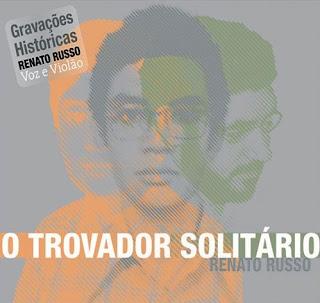 Renato Russo - O Trovador Solitário CD Capa