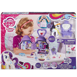 MLP Rarity Booktique Playset Rarity Brushable Figure