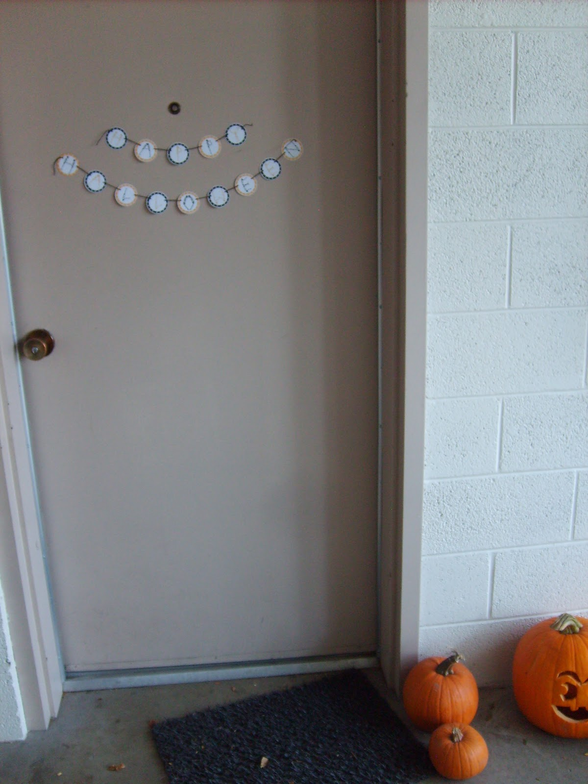 photo about Happy Halloween Banner Printable named the crimson kitchen area: Against the archives: Joyful Halloween Banner