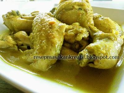 Resep Cara Membuat Kari Ayam