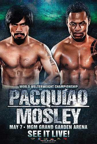 Pacquiao vs Mosley Poster