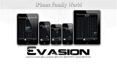 EvasiOn 1.5.3 - iPhone family world