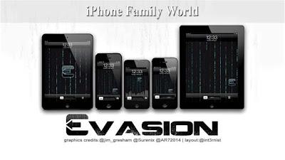 EvasiOn 1.5.3 - iPhone family world