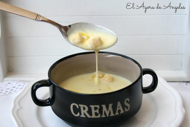 sopa fría de calabacín y yogur,crema de calabacín