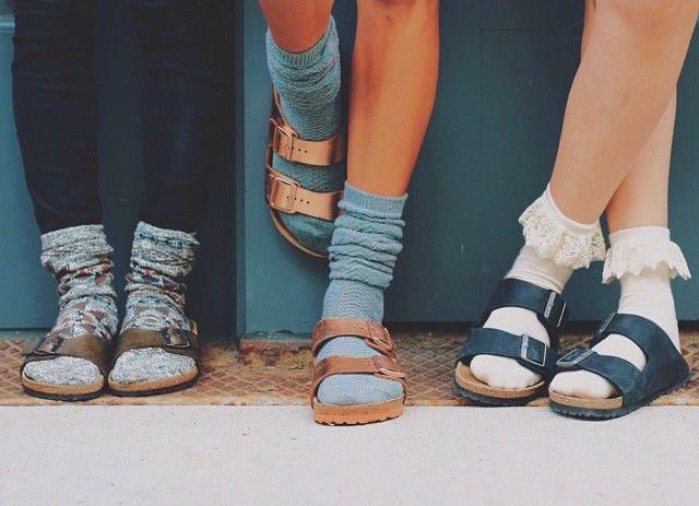 birkenstock con calcetines