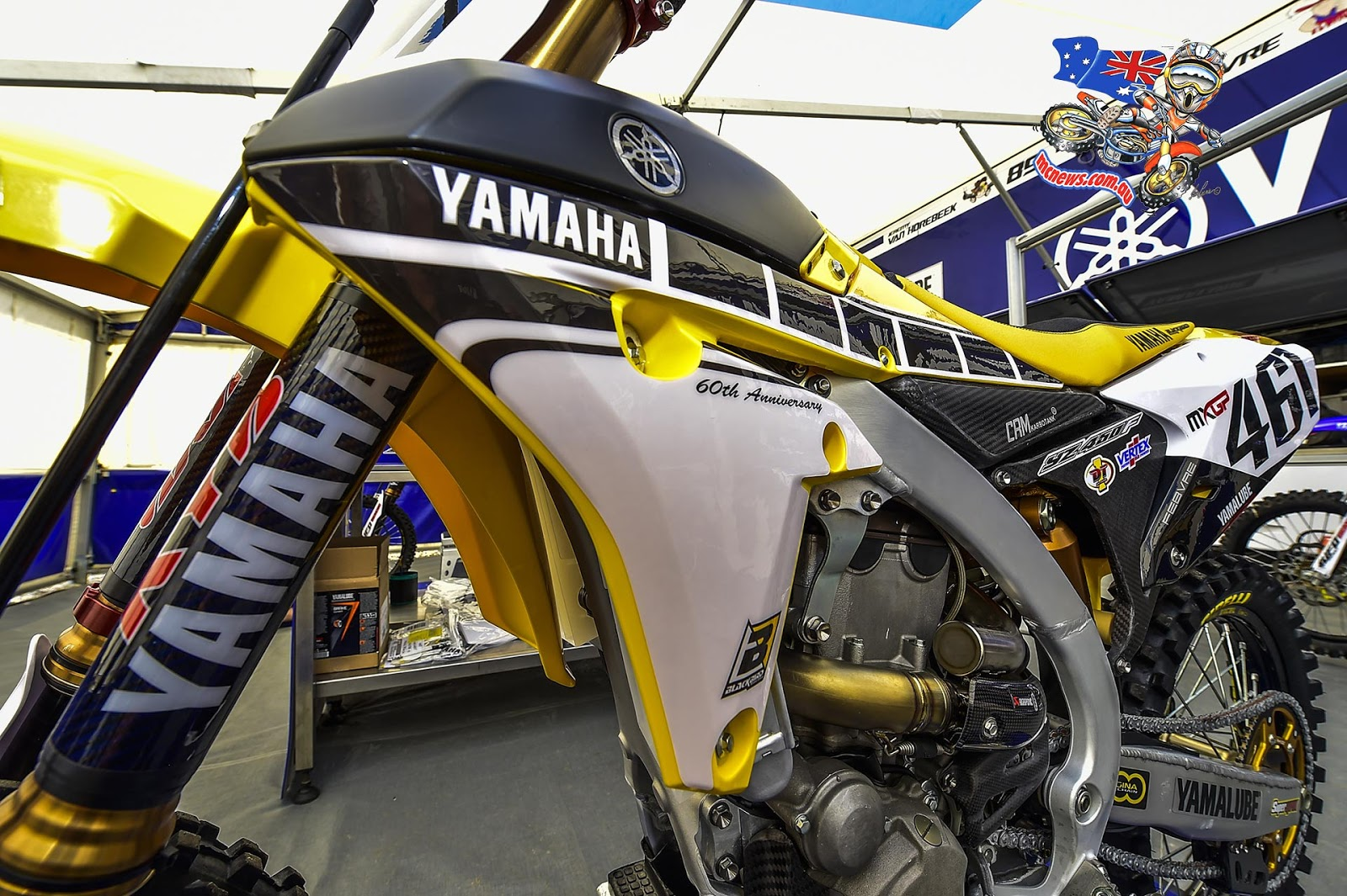 Ca pique le MX... - Page 2 Yamaha-2016-MX-Launch-Maggiora-YZ450F-Close