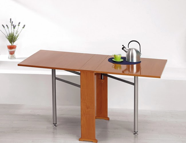 Mesa muy muy estrecha para cocina hacer bricolaje es - Hacer mesa abatible ...