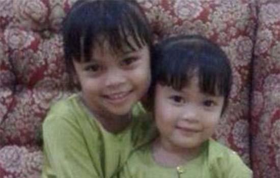 Mayat dua budak perempuan berpelukan dalam kebakaran