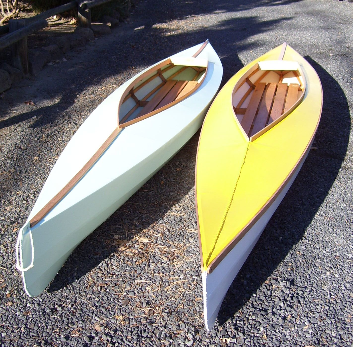 DoryMan: Skin on Frame Kayak by Lou Brochetti