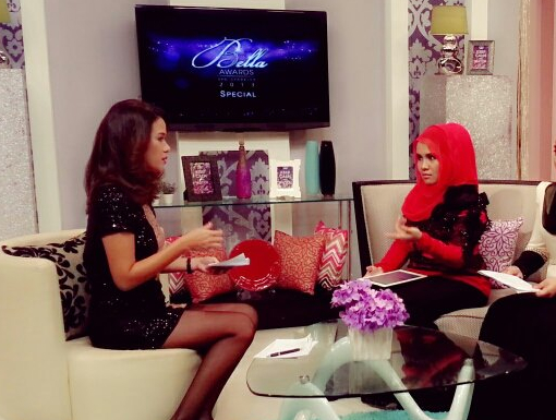 Hanis Haizi interviewed in NTV7 Bella program