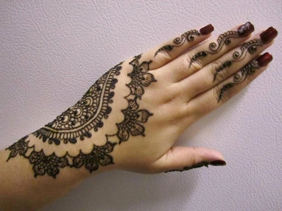 Latest New Unique Henna Designs Wallpapers Free Download