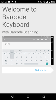 Barcode Keyboard Guided Setup