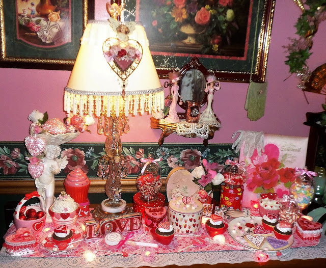 Dining Room Valentine Buffet. 2017