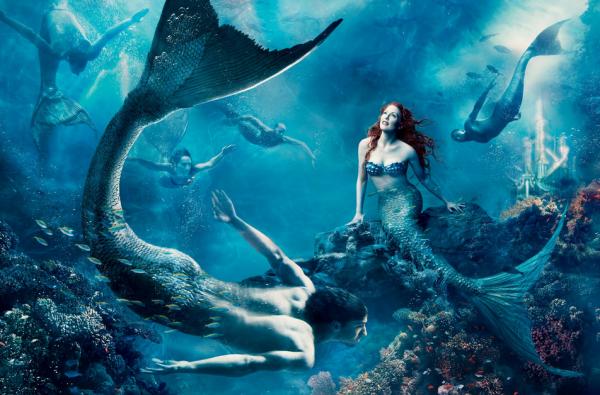Through The Aquarium Glass Mermaid Visions The Sexual Politics Of
